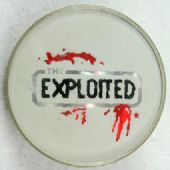 The Exploited - 'Logo' Vintage Prismatic Crystal Badge